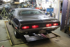 70:a Dodge Challenger R/T SE 440 Six-pack 4-speed