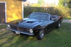 70:a Plymouth Cuda